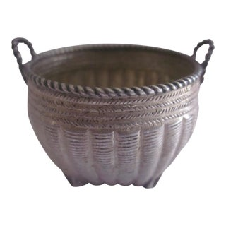 Antique Miniature Chinese Export Silver Basket