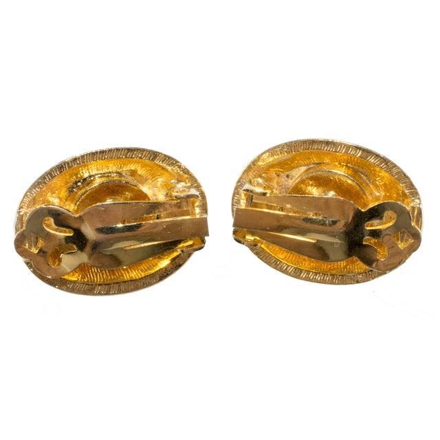 Image of Kenneth Jay Lane Enameled Convertible Earrings