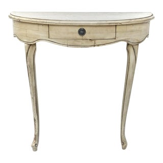 Gustavian Style Wall Mounted Console Table
