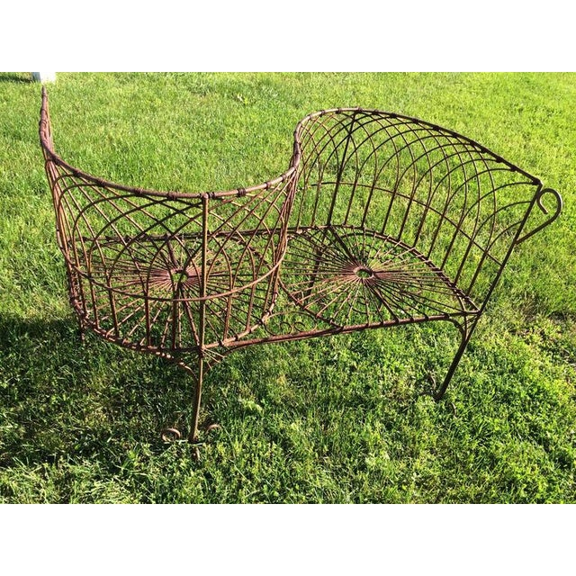 Vintage Iron Garden Tete-A-Tete - Image 2 of 9