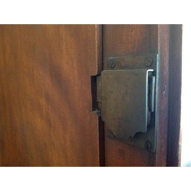 Antique American Pine Armoire - Image 10 of 11