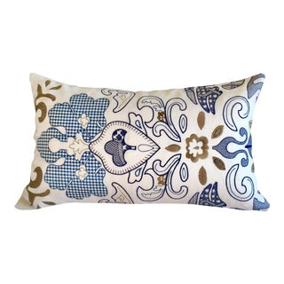 Pierre Frey Lysithe Embroidered Pillow Cover