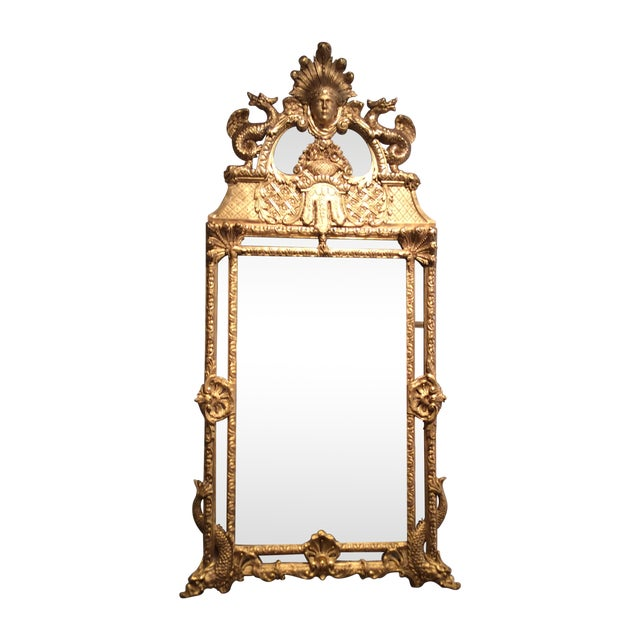 Antique Early 18th Century French Mirror - Image 1 of 5