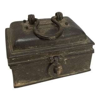 East Asian Bronze Lock Box