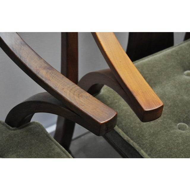 "Dunbar Set of Four ""Greene & Greene"" Chairs by Edward Wormley - Image 7 of 7"