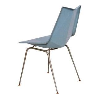 Paul McCobb Light Blue Origami Side Chair, USA, 1950s