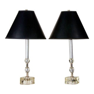 Art Deco Table Lamps - A Pair