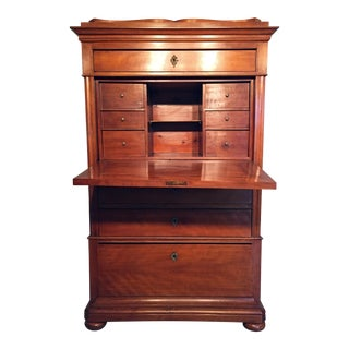 Biedermeier Fall-Front Secretary Desk