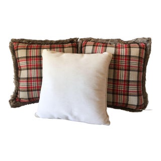 Rustic Complete Pillow Set - Set of 3