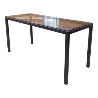 Room & Board Counter Height Steel Parsons Table
