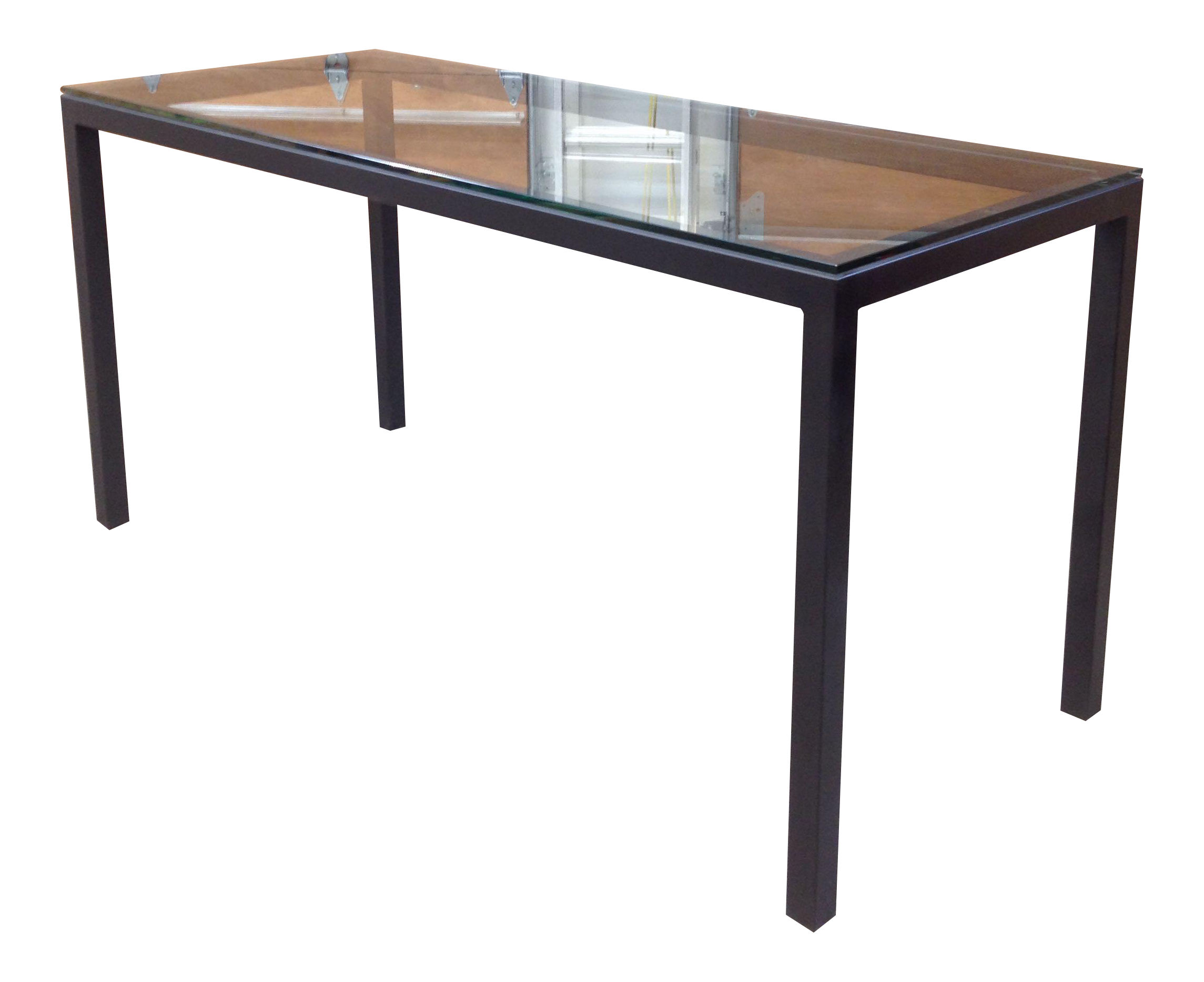 Room U0026 Board Counter Height Steel Parsons Table Part 76