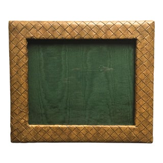 "Woven Leather 13"" Photo Frame-Kreiss"