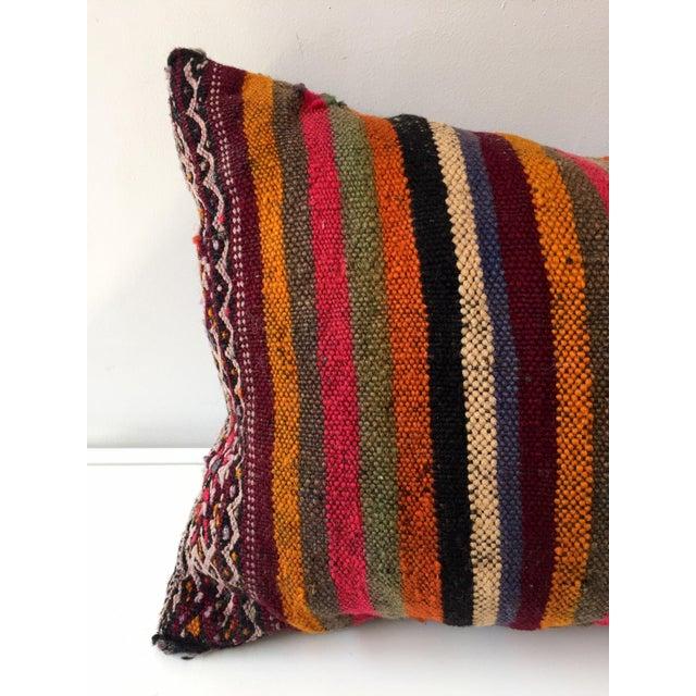 Dhurrie Lumbar Pillow - Image 6 of 8