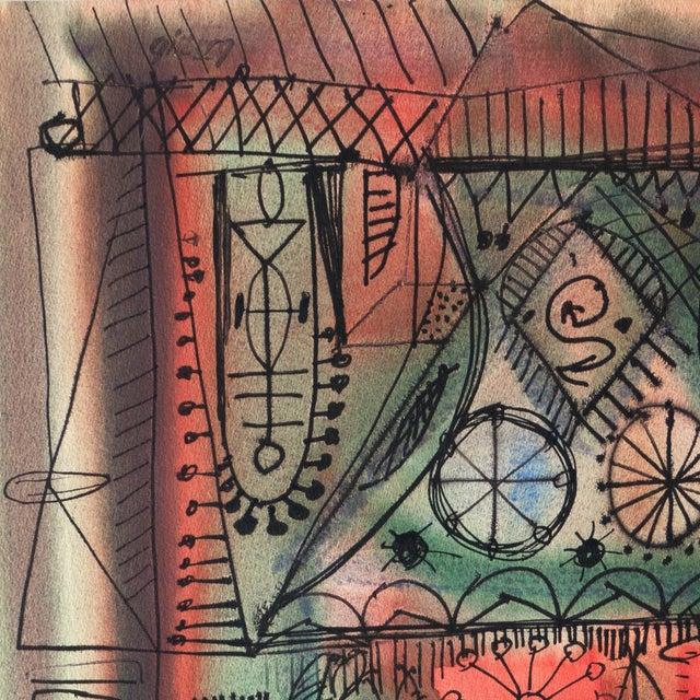 Robert Gilberg Vintage Dynamic Abstract - Image 2 of 7