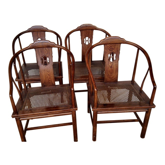 Henredon Chinoiserie Dining Chairs - Set Of 4