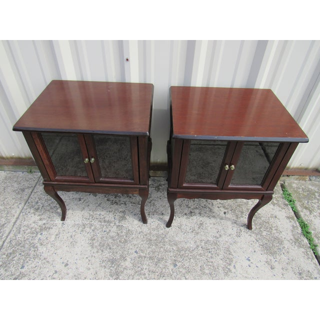 French Provincial Apartment Nightstands - Pair - Image 2 of 7