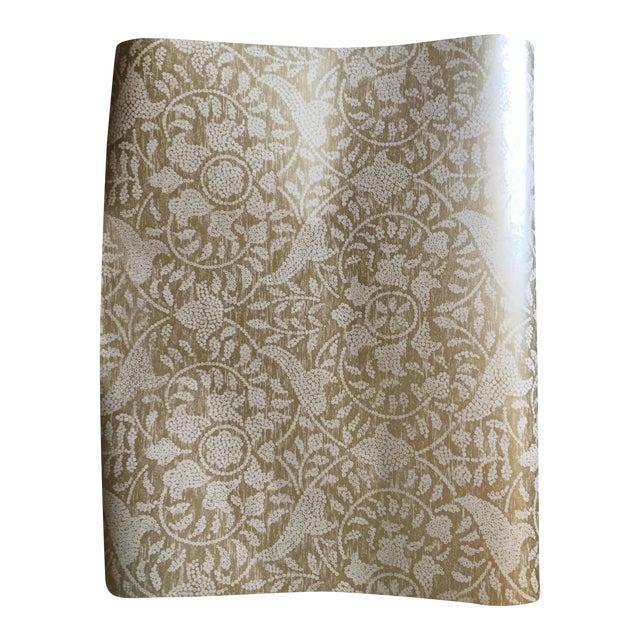 Image of Harlequin Gold Damask Azita Wallpaper - 3 Rolls