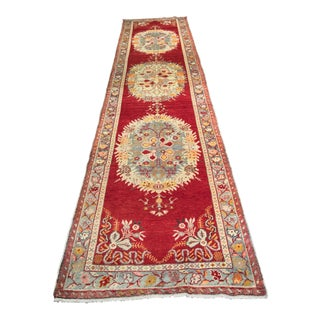"Bellwether Rugs Vintage Turkish Anatolian Runner - 3'4"" x 14'"