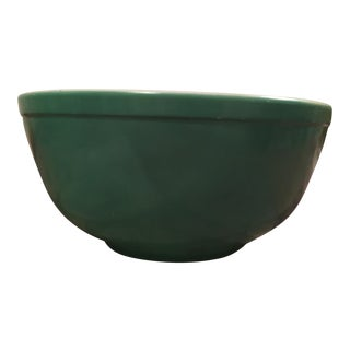 Vintage Green Pyrex Mixing Bowl