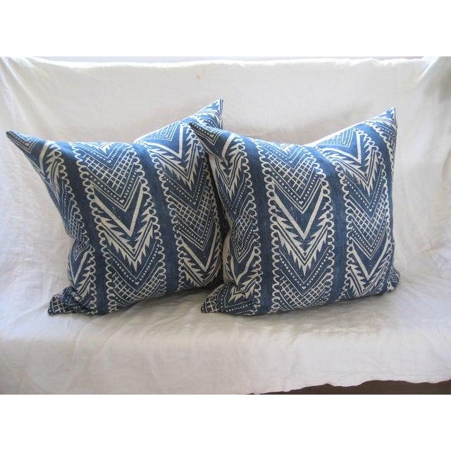 Custom Hand-Spun Linen Pillows - A Pair - Image 2 of 8