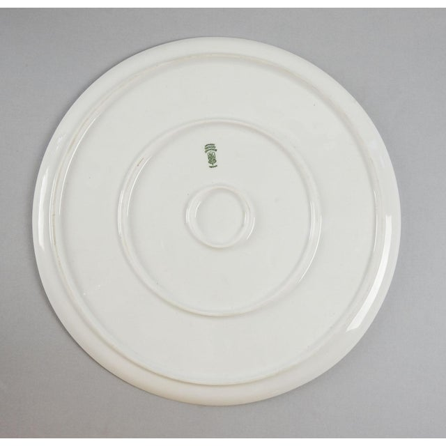 Image of White Porcelain Serving Plate