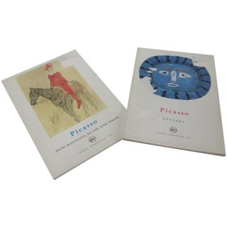 Picasso Pottery and Art Books - Set of Two