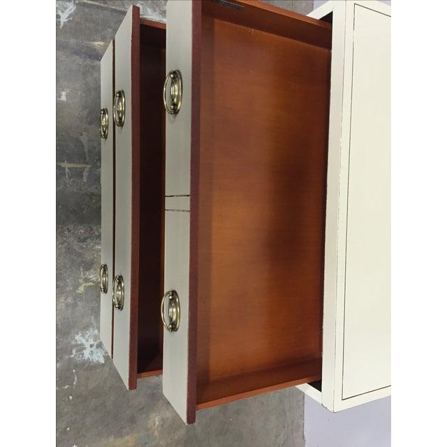 Shabby Chic 2-Toned Dresser - Image 6 of 8