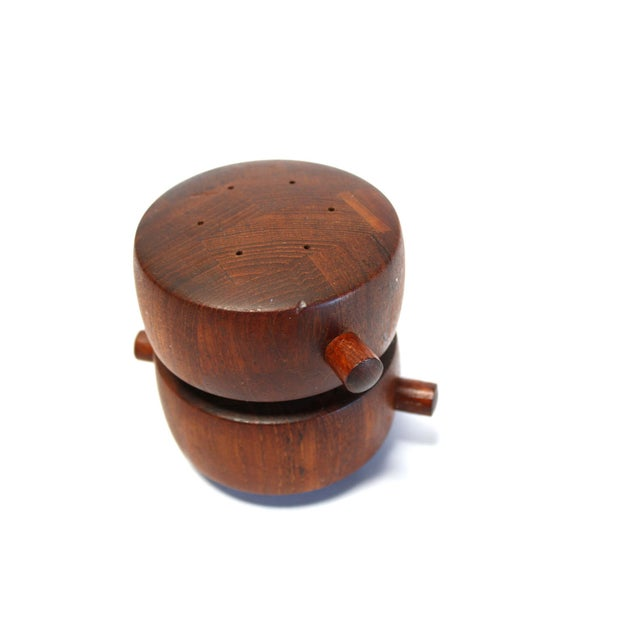 Dansk Jens Quistgaard Teak Salt & Pepper Mill - Image 3 of 7