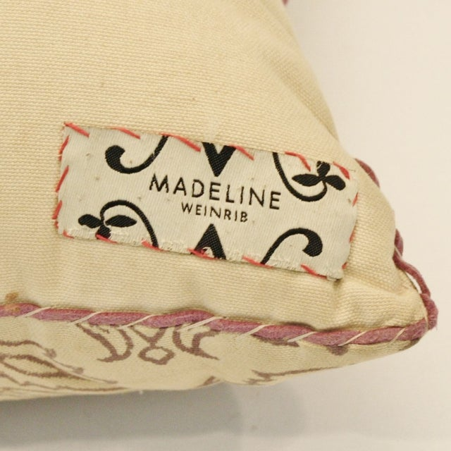 Madeline Weinrib Thistle Pillow - Image 3 of 3
