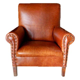 Child's Leather Club Chair