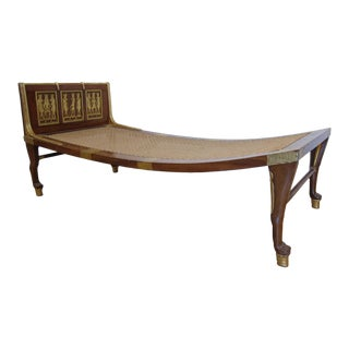 Egyptian Revival Style Daybed or Recamier.