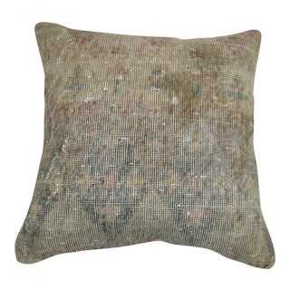 Distressed Rug Pillow From Turkey