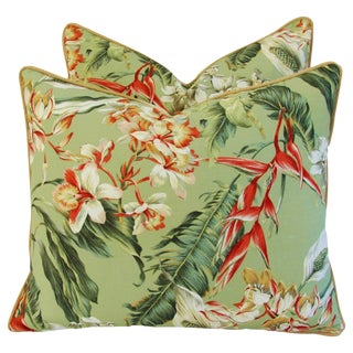 Tropical Paradise Pillows - a Pair