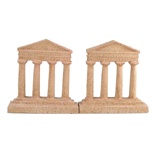 Terracotta Greek Acropolis Style Bookends - A Pair - Image 3 of 10