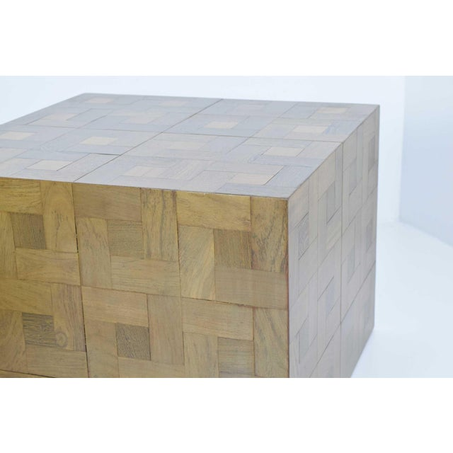 Pair of Parquet Oak Side or Coffee Tables - Image 3 of 7