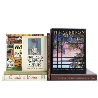 Art in America Books - Set of 7