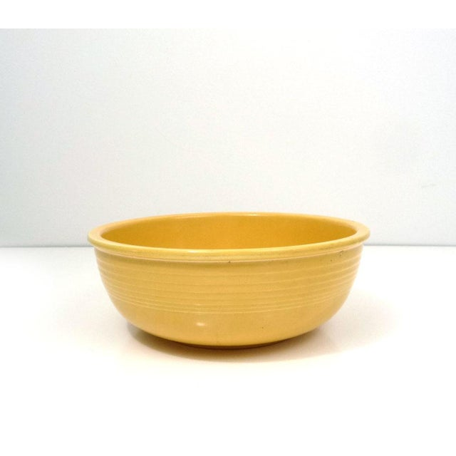 Rare Promotional Fiesta Yellow Salad Bowl - Image 2 of 7