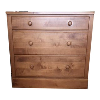 Ethan Allen Wheat Finish 3-Drawer Dresser