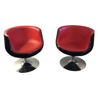 Eero Aarnio 'Cognac' Chairs Pair