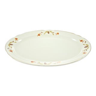 Autumn Leaf & Vine Oval Tray
