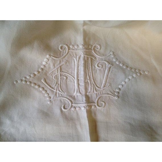 1920's French Bed Linen - Image 4 of 6