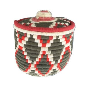 Moroccan Woven Basket