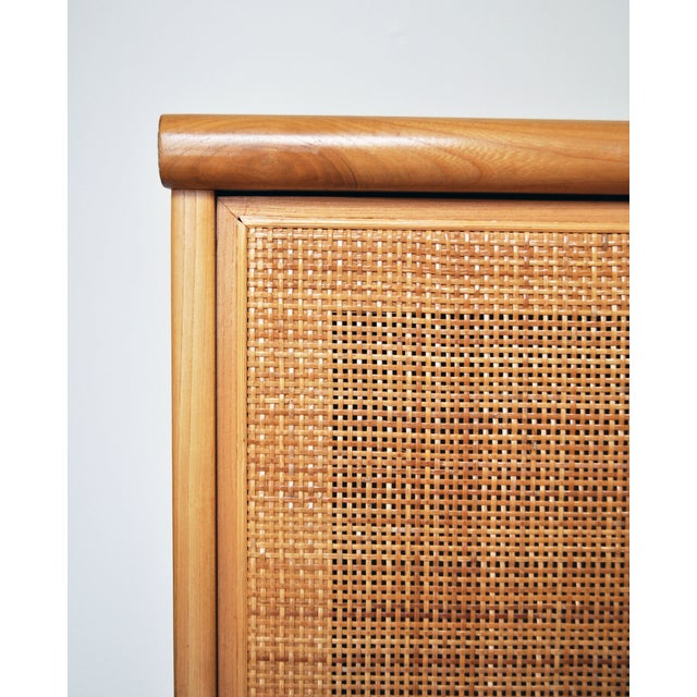 Image of Vintage Jack Cartwright for Founders Cane Cabinet