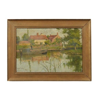 19th Century English Impressionist Landscape