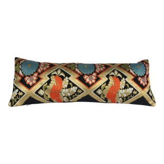 Silk Japanese Obi Pillow