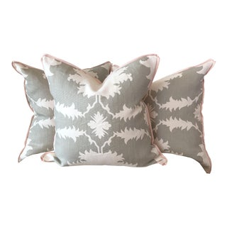 "Schumacher ""Garden of Persia"" Pillows - Set of 3"