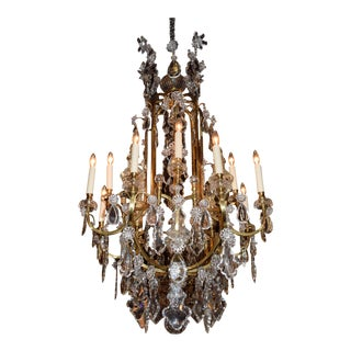 Antique Baccarat chandelier