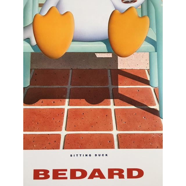 Michael Bedard Sitting Duck Lithograph - Image 5 of 9