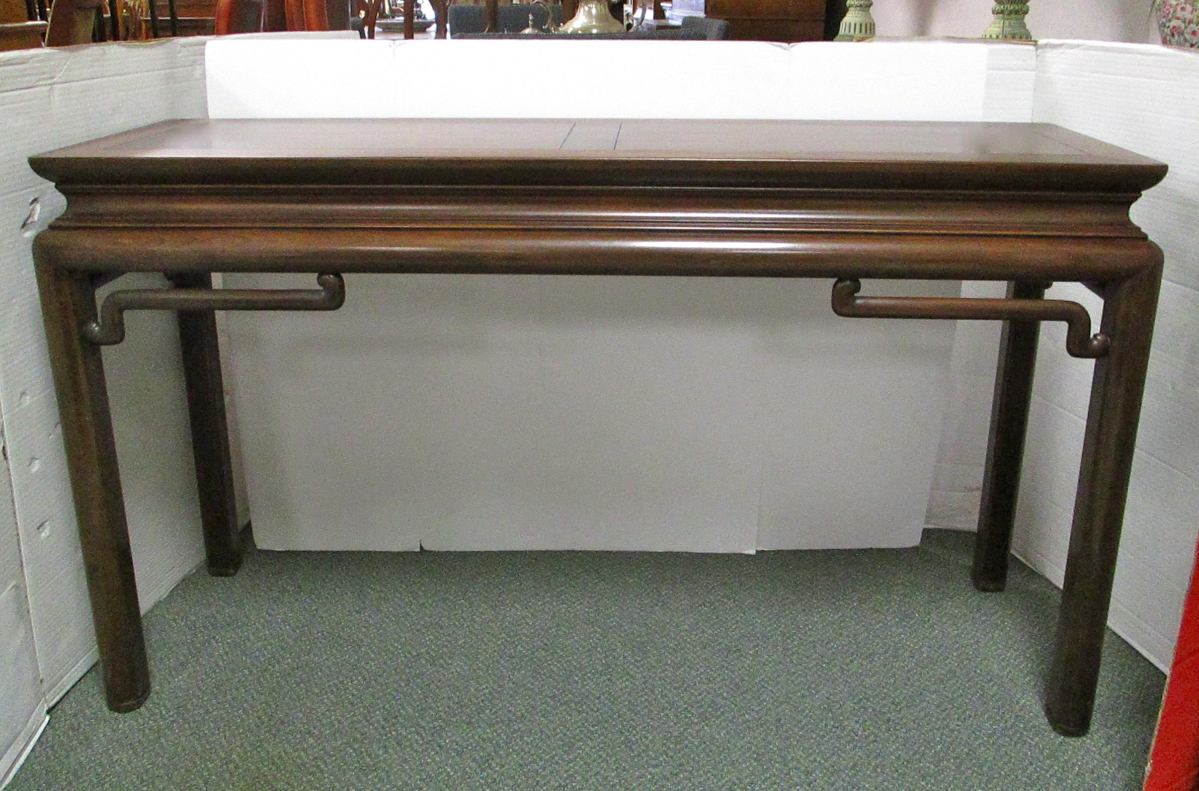 Baker Asian Style Console Table   Image 2 Of 6
