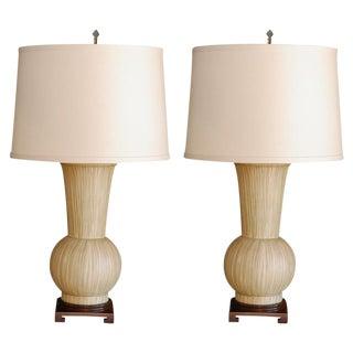 Customizable Paul Marra Urn Table Lamps